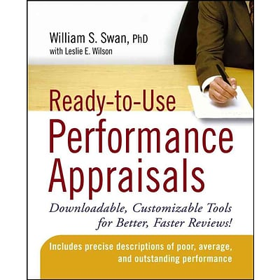 Ready-to-Use Performance Appraisals William S. Swan PhD Paperback