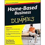 Home Based Business For Dummies Paul Edwards, Sarah Edwards, Peter Economy Paperback