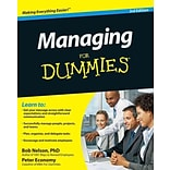 Managing For Dummies Bob Nelson , Peter Economy Paperback