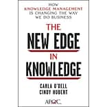 The New Edge in Knowledge Carla Odell, Cindy Hubert Hardcover