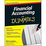 Financial Accounting For Dummies Maire Loughran Paperback