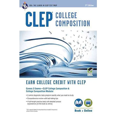 CLEP College Composition Book + Online (CLEP Test Preparation)