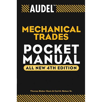 Audel Mechanical Trades Pocket Manual (Audel Technical Trades Series)