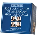 Barrons 500 Flash Cards of American Sign Language