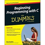 Beginning Programming with C For Dummies (For Dummies (Computers)