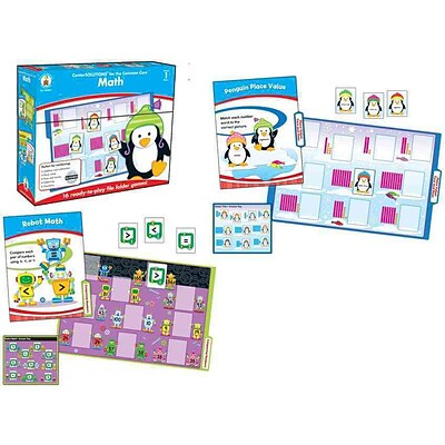 Carson Dellosa Math File Folder Game