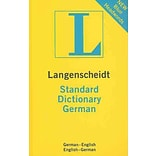Langenscheidt Standard Dictionary German