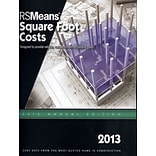 RS Means Square Foot Costs 2013