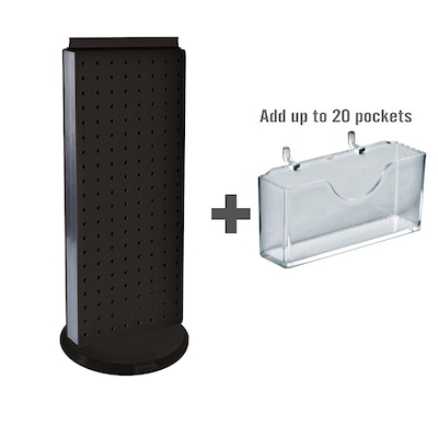 "Azar Displays 8"" x 21"" Pegboard Counter"