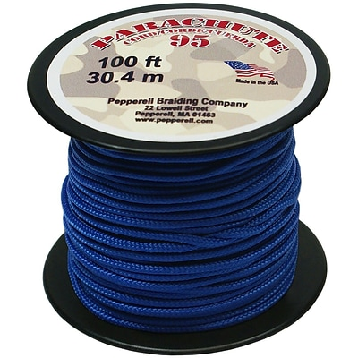 Pepperell 100 95 Parachute Cord, Royal