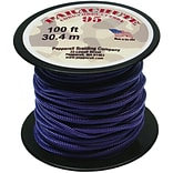 Pepperell 100 95 Parachute Cord, Purple