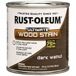 Rust-Oleum® Ultimate Wood Stain, Dark Walnut, Half Pint, 8 oz.