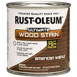 Rust-Oleum® Ultimate Wood Stain, American Walnut, Half Pint, 8 oz.