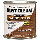 Rust-Oleum® Ultimate Wood Stain, Traditional Cherry, Half Pint, 8 oz.