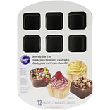 Wilton® 16 x 10 3/4 12 Compartment Brownie Bar Pan