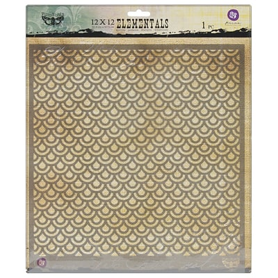 Prima Marketing™ 12 x 12 Elementals Stencil, Scales