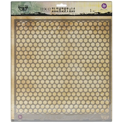 Prima Marketing™ 12 x 12 Elementals Stencil, Honeycomb