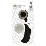Docrafts™ Xcut 45 mm Rotary Cutter With 2 Straight and 1 Wave Blade
