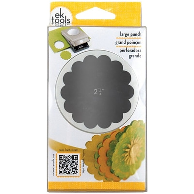 EK Success® Large Punch, Scallop Circle, 2 1/4