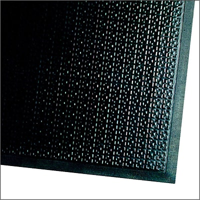 M+A Matting Happy Feet Nitrile Rubber Anti-Fatigue Mat 60 x 36, Black (465000035)