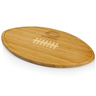 Picnic Time® NFL Licensed Kickoff Chicago Bears Engraved Cutting Board; Natural Wood
