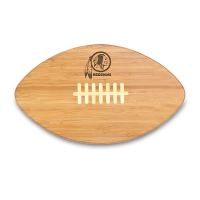 Picnic Time® NFL Licensed Touchdown Pro! Washington Redskins Engraved Cutting Board; Natural