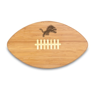 Picnic Time® NFL Licensed Touchdown Pro! Detroit Lions Engraved Cutting Board; Natural
