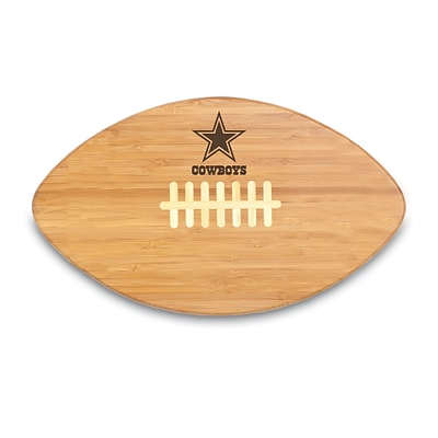 Picnic Time® NFL Licensed Touchdown Pro! Dallas Cowboys Engraved Cutting Board; Natural
