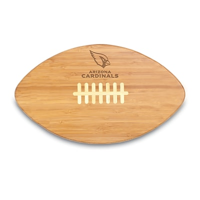 Picnic Time® NFL Licensed Touchdown Pro! Arizona Cardinals Engraved Cutting Board; Natural