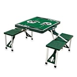 Picnic Time® NFL Licensed New York Jets Digital Print ABS Plastic Sport Picnic Table, Hunter