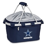 Picnic Time® NFL Licensed Metro® Dallas Cowboys Digital Print Polyester Basket, Navy