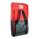Picnic Time® NFL Licensed Ventura New York Giants Digital Print Polyester Portable Seat, Red