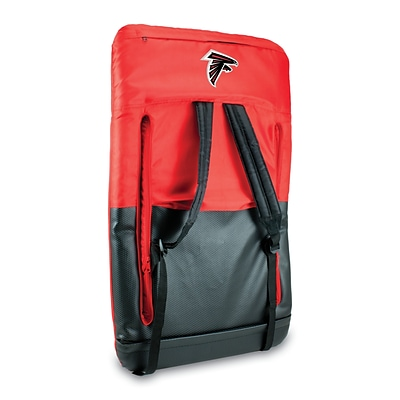 Picnic Time® NFL Licensed Ventura Atlanta Falcons Digital Print Polyester Portable Seat, Red