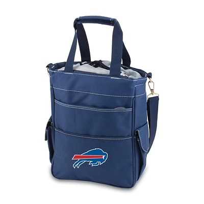 Picnic Time® NFL Licensed Activo Buffalo Bills Digital Print Polyester Cooler Tote, Navy