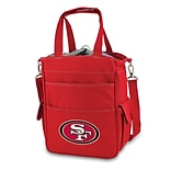 Picnic Time® NFL Licensed Activo San Francisco 49ers Digital Print Polyester Cooler Tote, Red
