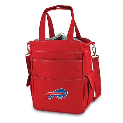 Picnic Time® NFL Licensed Activo Buffalo Bills Digital Print Polyester Cooler Tote, Red
