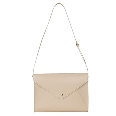 Paperthinks™ Classic Collection 14.5 x 11 x 2.7 Large Envelope Bag, Ivory