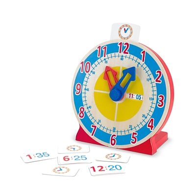 Melissa & Doug® Turn & Tell Wooden Clock