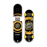 EP Memory Rob Dot Fade Skatedrive SCSKATERDF8GB USB 2.0 Flash Drive, Multicolor