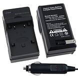 Insten® BCANNB2LCS04 Compact Battery Charger Set For Canon NB-2L/BP-2L12 Batteries