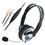 Insten® VOIP/SKYPE Handsfree Stereo Headset With Microphone