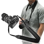 Insten® 3.5 Anti-Slip Weight Reducing Neoprene Neck Strap For Camera, Black