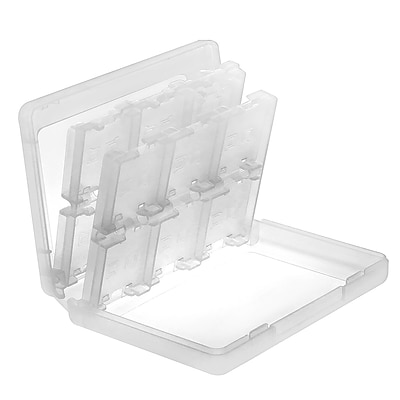 Insten® 24-In-1 Game Card Case For Nintendo 3DS/3DS XL; White