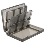 Insten® 24-In-1 Game Card Case For Nintendo 3DS; Smoke