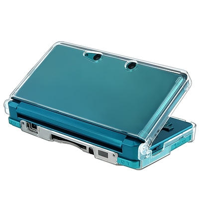 Insten® Snap-in Crystal Case For Nintendo 3DS; Clear