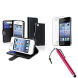 Insten® 1171371 3 Piece Case Bundle For Apple iPhone 4 AT&T/Verizon