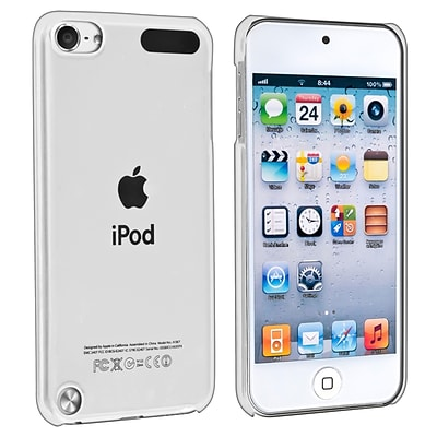 Insten® Snap-in Crytsal Case For iPod Touch 5th Gen; Clear Rear