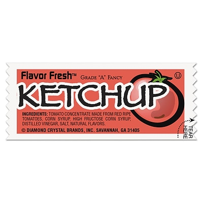 Diamond Crystal® Flavor Fresh Ketchup Condiment Packet; 0.317 oz.