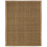 Anji Mountain Moray Tan Basketweave Area Rug Natural Fiber 4 x 6 Transitional