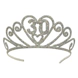 Beistle Glittered Metal 30 Tiara